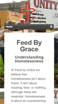 Mobile Preview of feedbygrace.org